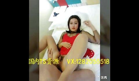 直男攻妖 Sexy transvestites 陈冰 have been man's big penis inserted into the anus
